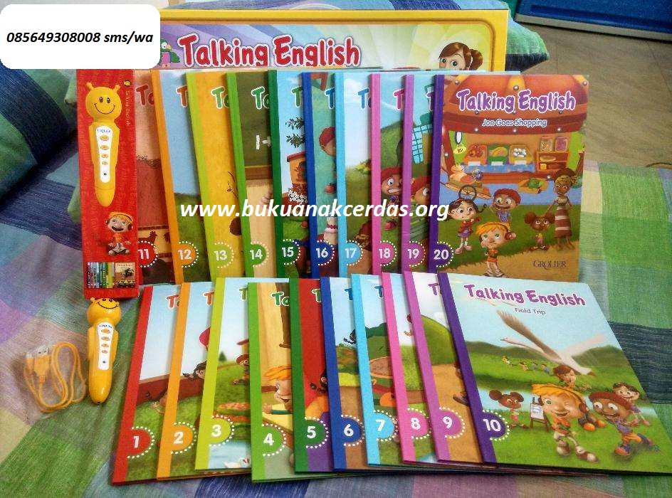 TALKING ENGLISH GrolierBuku Anak Cerdas Grolier, CP ...